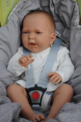 Kuschelsack in Babyschale