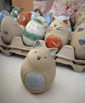 les Coquos pour la déco de Pâques
