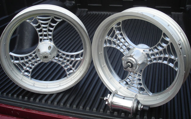 custom billet bicycle wheels