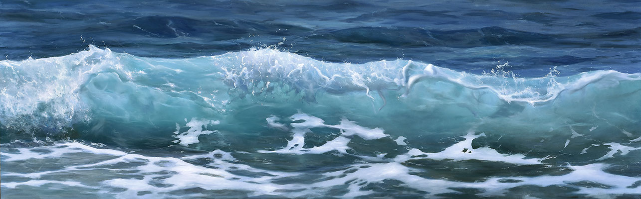 Oil on panel  65 x 200 cm AVAILABLE