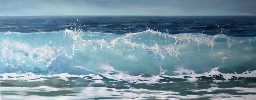 Oil on panel - 80 x 203 cm AVAILABLE