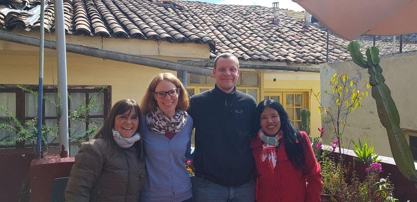 Unsere Lehrerinnen bei Acupari