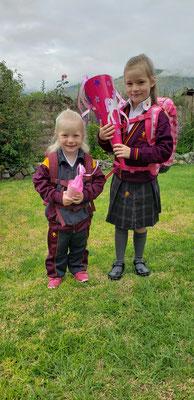 Erster Schul- und Kindergartentag