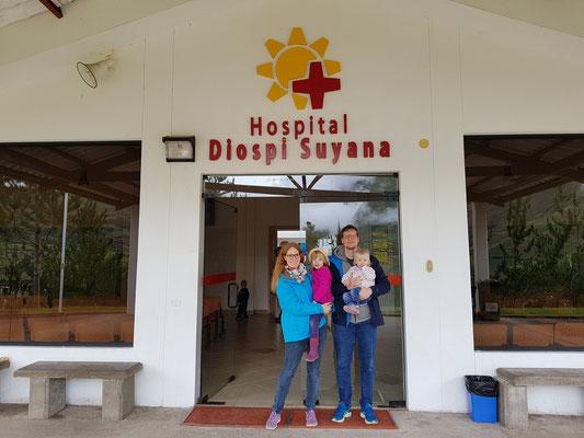 März 2018: Das erste Mal gemeinsam am Hospital Diospi Suyana