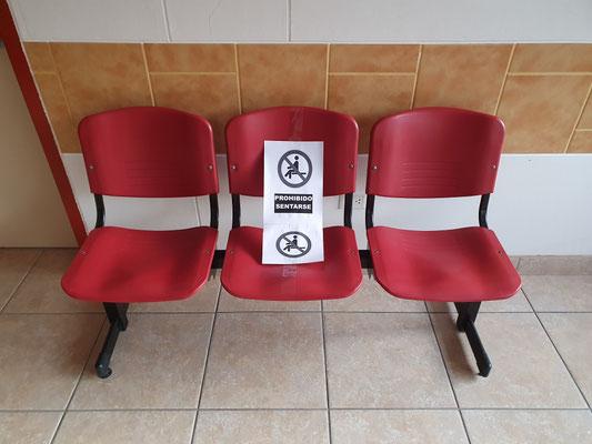 Maßnahmen während der Corona-Krise: Nur jeder 2. Sitzplatz darf besetzt werden