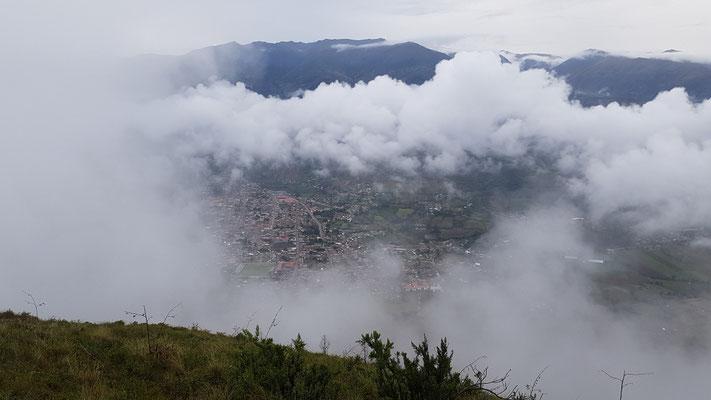 Curahuasi von oben Anfang Januar 2019: Regenzeit