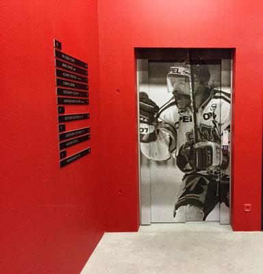 Schindler Switzerland, Idee kreativ, Grafik, Werbetechnik, Wandgestaltung, Kreativ, Bern, Zürich, Schweiz