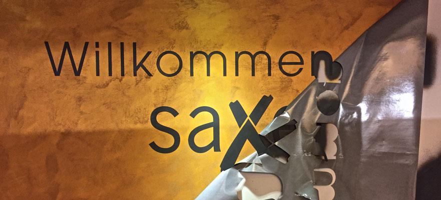 Saxer Immobilien Thun, Idee kreativ, Grafik, Werbetechnik, Wandgestaltung, Kreativ, Bern, Zürich, Schweiz