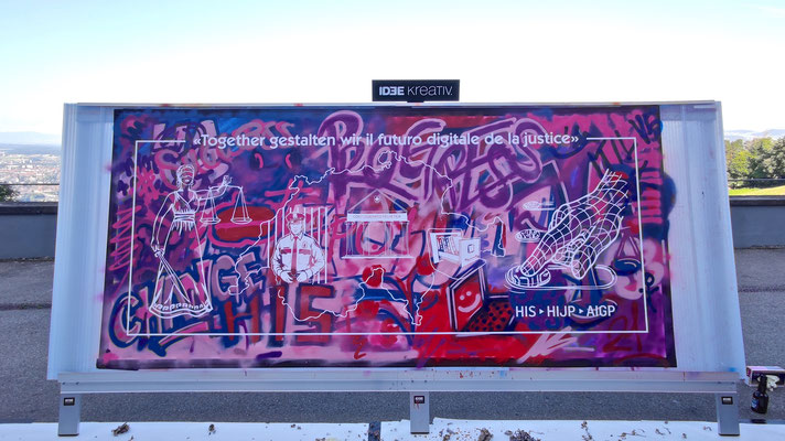 Idee kreativ, Grafik, Beschriftungen, Werbetechnik, Wandgestaltung, Graffiti Workshops, Bern, Zürich,