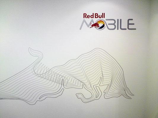 Red Bull, Promotion Stand, POS Visuals, Flughafen Zürich - Idee kreativ, Grafik, Werbetechnik, Wandgestaltung, Kreativ, Bern, Zürich, Schweiz