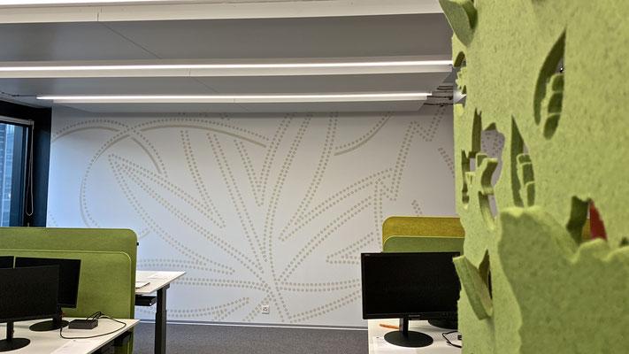 Idee kreativ, Gafik, Werbetechnik, Wandgestaltung, Kreativ