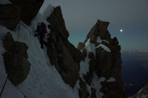 In Aosta brennen bereits die Lichter.