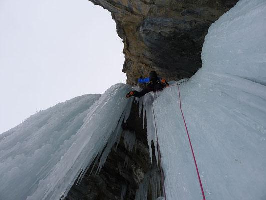 Schöne Kletterei (Foto: Björn)
