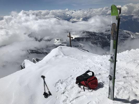 Immer wieder schön: Balmhorn Gipfel