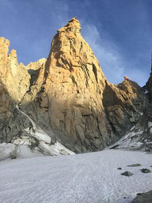 Der Grand Capucin, wie geschaffen fürs Klettern.