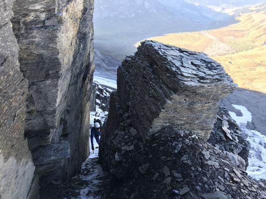 Aufstieg über Strubelegga auf dem Grossstrubel