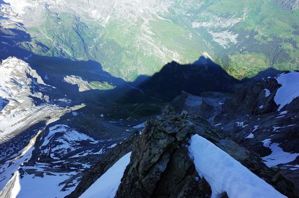 Im Schatten der Jungfrau.