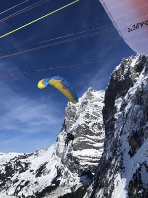 Easy Abstieg nach Grindelwald.