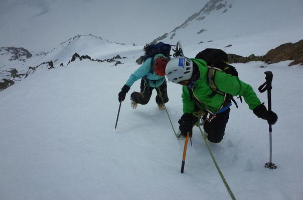 Südwand-Abstieg