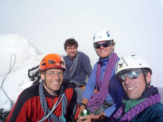 Integral-Begehung, Gipfelfoto