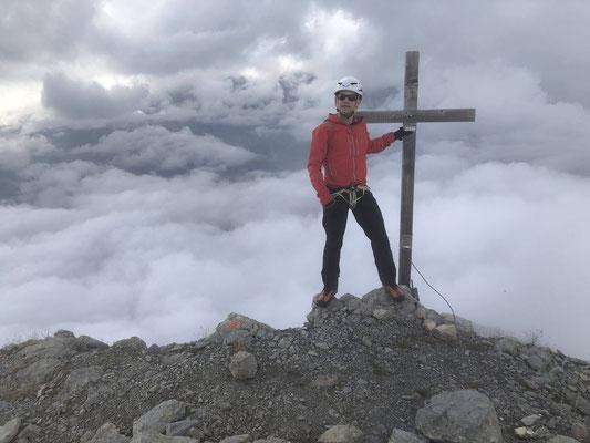 Der sechste und letzte Gipfel: Das Mittaghorn.