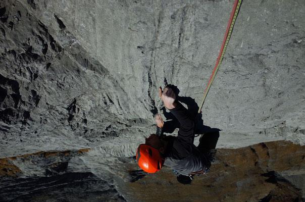Auch die 10. Länge bietet sehr schöne Kletterei