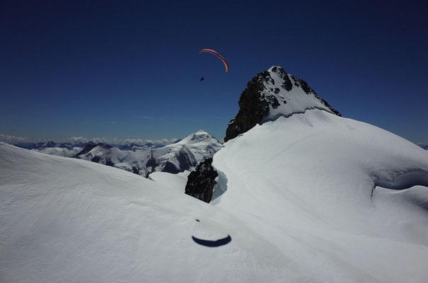 Soaren an der Wengen Jungfrau