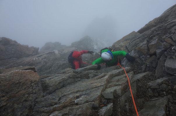 Klettern mit Steigeisen