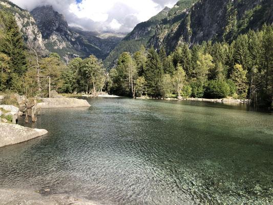 Das Val di Mello ist auch für Nicht-Kletterer ein lohnendes Ausflugsziel.
