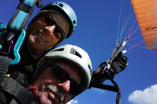 Luft-Selfie.