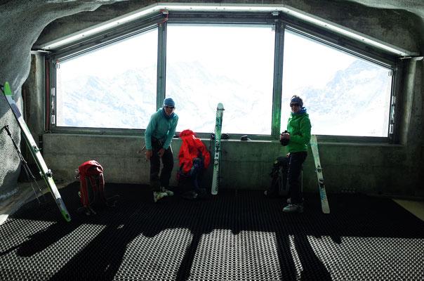Bereitmachen in der Station Eismeer