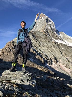 Christian und 'sein' Matterhorn.
