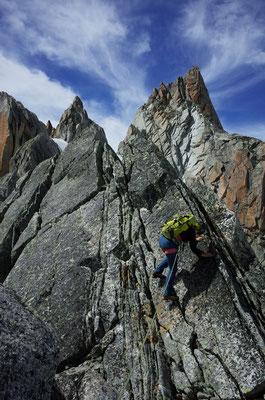 Eine Welt aus festem, kletterfreundlichen Granit.