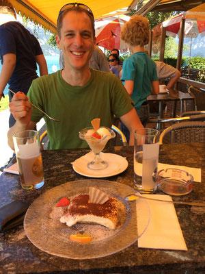 Dessert am Thunersee zum Abschluss