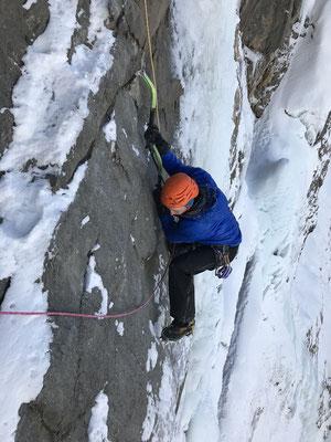 Präzises Klettern ist der Schlüssel zum Erfolg.