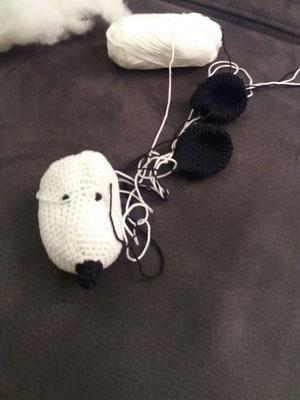 Snoopy in Arbeit...