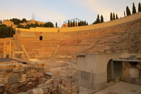 Le théâtre romain de Carthagène.