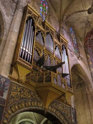 L'orgue.