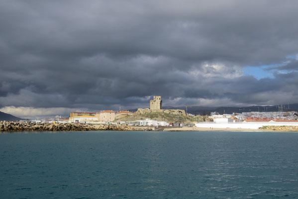 Tarifa : à cheval entre l'Atlantique et la Méditerranée, nous y sommes !