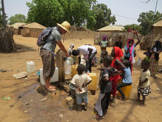 Recharge d'eau potable