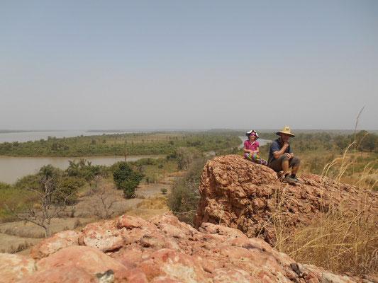 En haut de Red Hill
