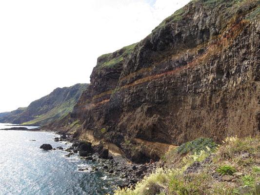Falaises au sud de l'île