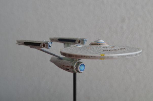 NCC-1701-A ca. 12 cm klein Constitution Class Refit