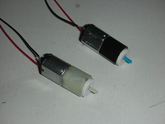 Micro-E-Motor inkl. Getriebe für die Bussard Collectors