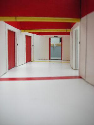 Korridor Richtung Turbolift