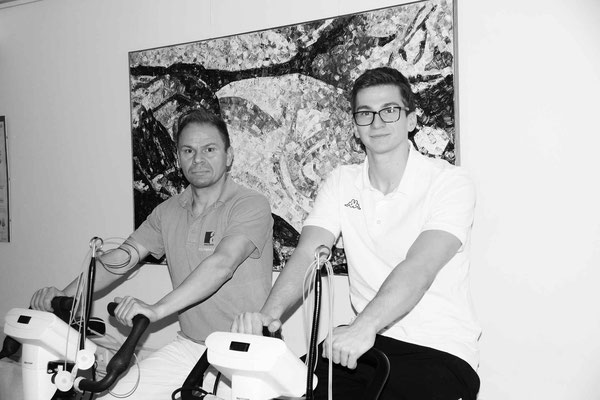 Msc Heiko Urban & Msc Christoph Gressenbauer, Sport- & Trainingswissenschafter