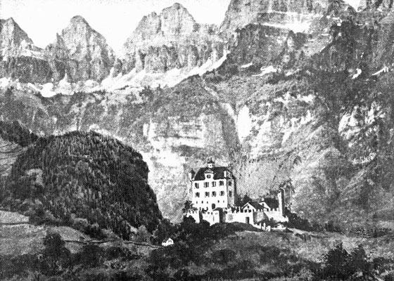 Etwa Mitte 18. Jahrhundert