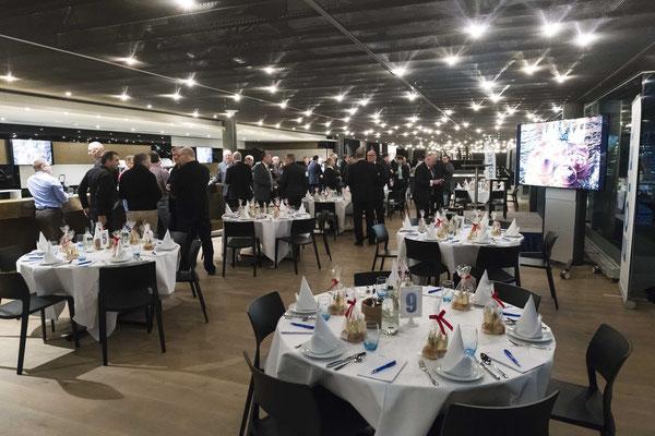 St. Jakob Park Premium Lounge Eotec AG Event