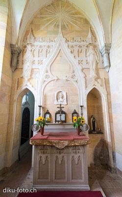 Kapelle im Schloss Birseck