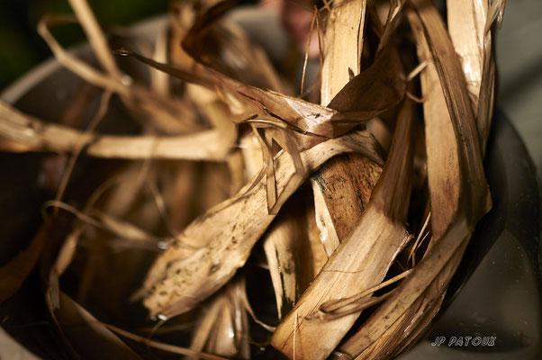 fibre de tilleul après rouïssage